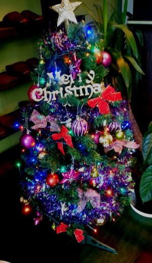 クリスマスツリ-